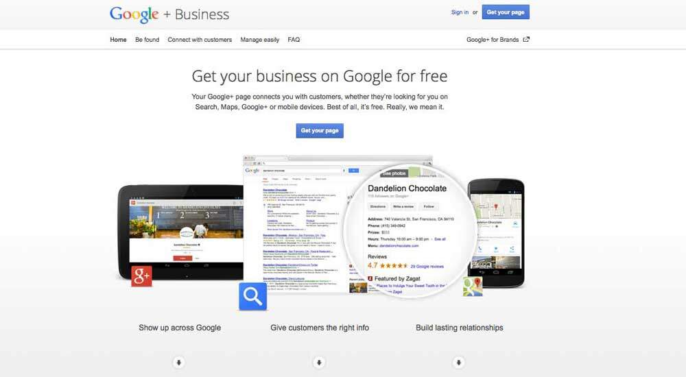 google plus business page how to