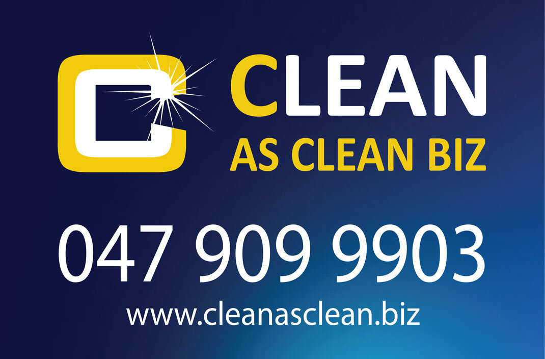 Cleanasclean Car Sign