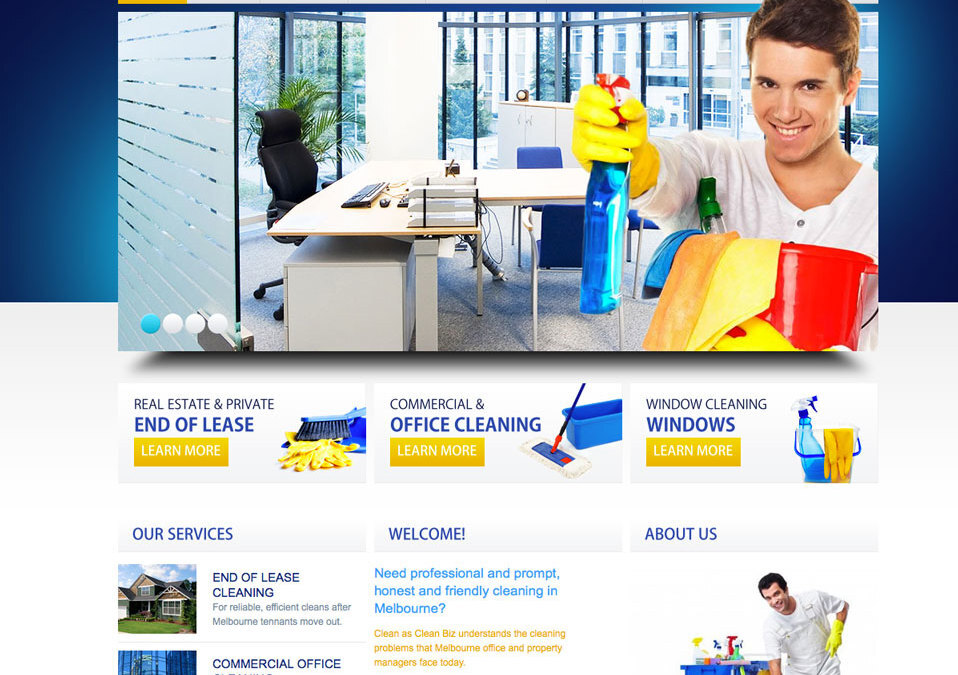 Cleanasclean Website
