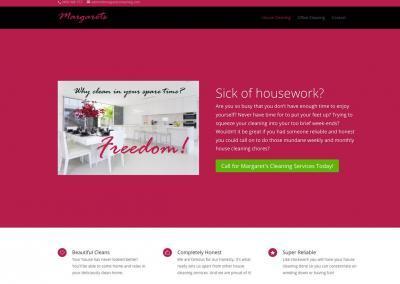 Margos Cleaning Website