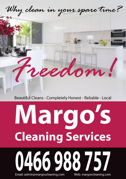 Margo's Cleaning Flyer