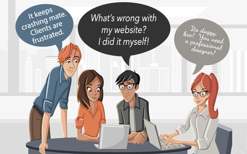 cartoon staff don't like their website